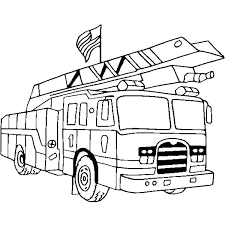 Coloring Free Fire Trucks Coloring Pages Children Engine Page Truck