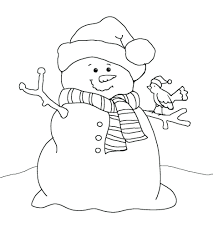 Children making snowman coloring page. Snowman Coloring Pages For Adults Printable Frosty The To Print 7351 Snowman Coloring Pages Coloringtone Book