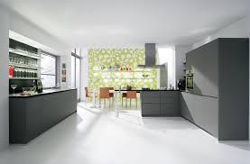 Grey Modern Kitchen Design Picture Of Modern Kitchen Design White Floor And Wall With Grey
