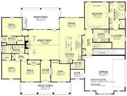 house plan 51998 southern style with