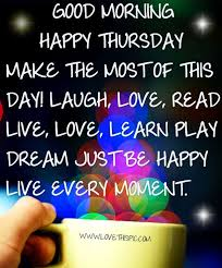 Good Morning Thursday Picture Quotes