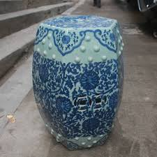 chinese garden stool. Interesting Chinese Jindezhen Chinese Ceramic Drum Stool Bathroom Dressing Blue And White  Antique Chinese Garden For Garden Stool T