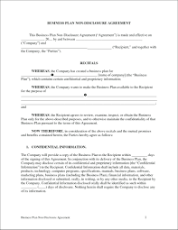 Business Confidentiality Agreement Sample Template Non Disclosure And Confidentiality Agreement Template 23