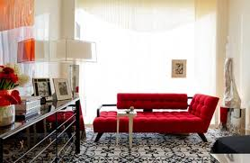 red hot living room ideas
