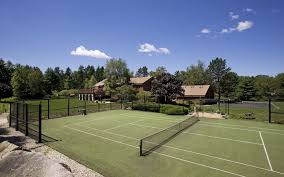 Lovely Backyard Tennis Court Cost Photo Gallery  Home DesignBackyard Tennis Court Cost