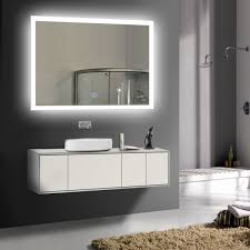 unique vanity lighting. Bathroom Vanity Light Height Above Mirror New 36 X 28 In Horizontal Led Touch Button Unique Lighting