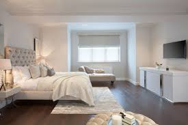Wonderful Dark Hardwood Floors Bedroom Master Photo In London With White Walls Intended Design Decorating