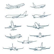 Airplane Drawing Airplane Sketches Barca Fontanacountryinn Com