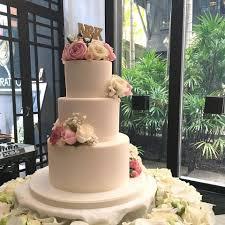 Baking Season Simple 3 Tier Wedding Cake With Fresh Facebook