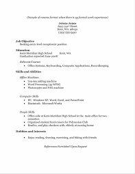 Homemaker Resume 18 A Resume With No Work Experience Example For Homemaker  Job