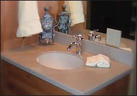 corinthian 49 w x 19 d solid surface vanity top with undermount bowl at menards