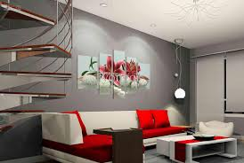 Perfect Insurable At Home Wall Art Amazing Interior Home Decoration Red  Canvas Pillow Unique Contemporary Wonderful