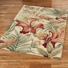 tropical area rugs. Paradise Foliage Tropical Area Rugs L