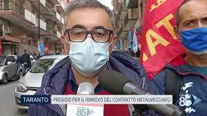 05 Novembre 2020 Taranto Presidio per il rinnovo del contratto  metalmeccanici - YouTube