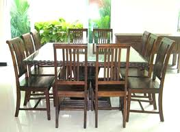 10 seater dining room set 10 seater round dining table