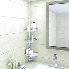 glass corner shower caddy corner shower 3 tier adjule bathroom constant tension corner pole free standing