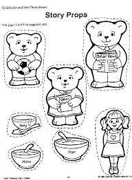 Small Picture goldilocks and the three bears coloring pages preschool preschool