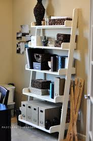 contemporary pottery barn ladder bookcase ana white leaning wall shelf d i y project back chair desk towel