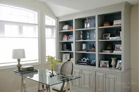 built in home office. complete side view diy builtin office cabinet classy glam living built in home s