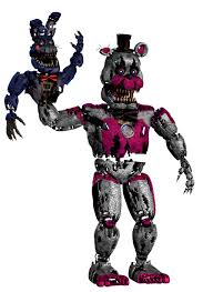 How To Draw Nightmare Funtime Freddy
