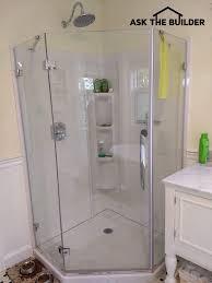 glass shower wall panels are diy askthebuilder com