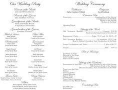 Catholic Wedding Mass Program 12 Best Wedding Church Programs Images Wedding Ceremonies