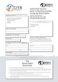 Direct Debit Form CITB - CITB NI Forms