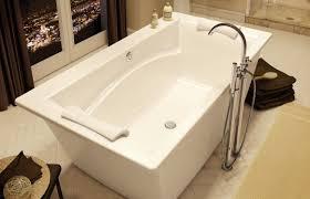 freestanding bathtub optik 6636 f maax bathroom