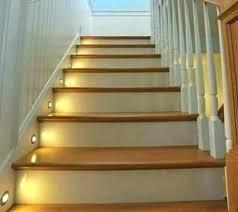 indoor stair lighting. Led Stair Lighting Kit Under  F Indoor Ideas Sylvania Motion Activated Indoor Stair Lighting