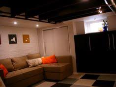 cheap finished basement ideas. Modren Finished Unfinished  On Cheap Finished Basement Ideas