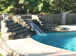 Diy Pool Waterfall Best Ideas About Kids Swimming Pools Diy Gallery And Types Of