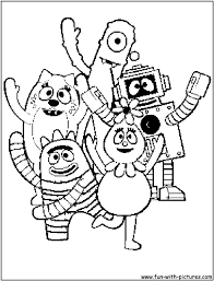 Nick Jr Coloring Pages 8 At Nickelodeon Characters Best Of ...