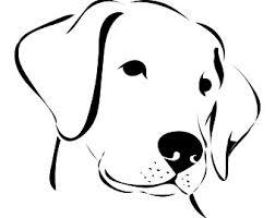 dog face clipart. Perfect Dog Labrador Dog Retriever Head Face  OutlineSVGGraphicsIllustrationVectorLogoDigitalClipart In Dog Face Clipart