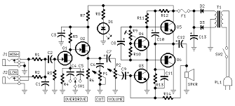 guitar amplifier red page52 circuit diagram 10w guitar amplifier