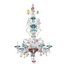 decoration glass chandelier throughout exceptional plan 8 murano chandeliers miami