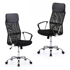 adjustable office chairs. IKayaa Ergonomic Mesh Adjustable Office Executive Chair Stool High-back Swivel Computer Task Furniture With SGS Intertek Testing Report Sales Chairs