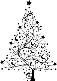Coloring Pages Tree Outline Clip Art Tree Branches Outline Clip Christmas Tree Outline Clip Art