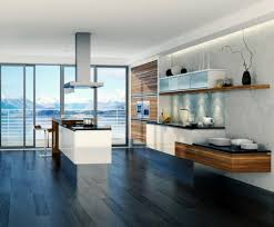 White Modern Kitchen Kitchen Stunning White Modern Kitchen Design With Appealing