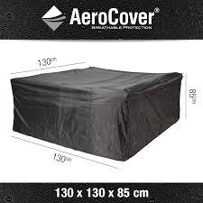 garden furniture cover breahtable aerocover 130x130x85cm size