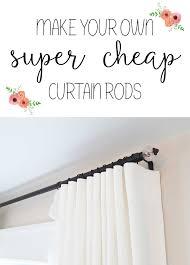 Diy Curtain Rods Super Duper Cheap Diy Electrical Conduit Curtain Rods