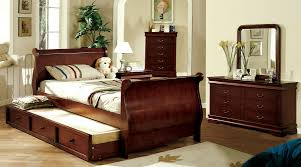 Louis Bedroom Furniture Furniture Of America Louis Philippe Jr Twin Bed Cm7828 Pearl