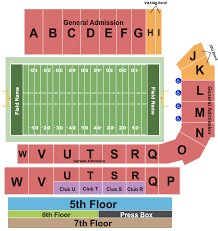 Burgess Snow Field At Jsu Stadium Seating Charts For All