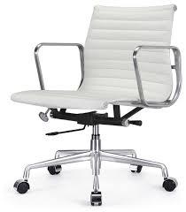 eames management chair white.