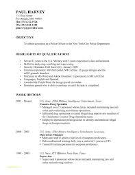 Resume Templates For Law Enforcement With Stunning Police Sergeant