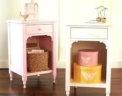 cute bedside tables incredible white