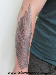 Tetování Andělské Křídlo Na Ruce Dovol Sám Sobě Svobodně žít