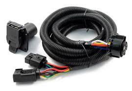 curt 56001 curt fifth wheel & gooseneck wiring harness free trailer wiring harness adapter at Hitch Wiring Harness