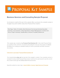 Proposal Templates Free 39 Best Consulting Proposal Templates Free Template Lab