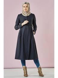Grey Abaya Designs Kayra Womens Abaya Flower Embroidery Design Elegant Stylish Coat