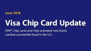 visa emv chip card update for june 2018